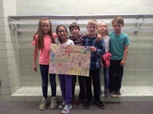 picture of 3rd grade 1st place battle of the books winners